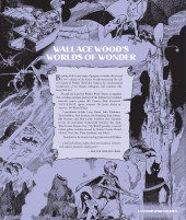 Verso de (AUT) Wood, Wallace (en anglais) - The life and legend of wallace wood volume 2