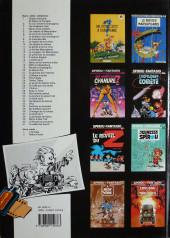 Verso de Spirou et Fantasio -34a1990- Aventure en Australie