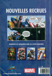 Verso de Avengers (Presses aventure) -5- Nouvelles recrues