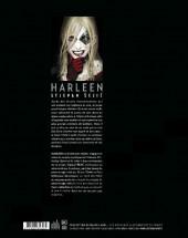 Verso de Harleen (Urban Comics) - Harleen