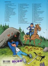 Verso de Les tuniques Bleues -22Été20- Des bleus et des dentelles
