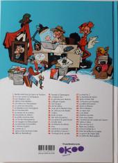Verso de Spirou et Fantasio -53Été20- Dans les griffes de la Vipère