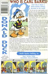 Verso de Uncle $crooge (3) (Gladstone - 1986) -216- Issue # 216