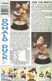 Verso de Uncle $crooge (3) (Gladstone - 1986) -219- Issue # 219
