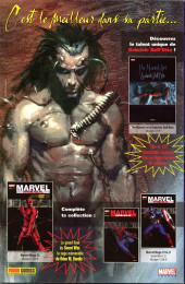 Verso de Spider-Man (Marvel France 2e série - 2000) -74Col- Un américain pur jus (2)