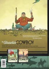 Verso de Shaolin Cowboy (The) (Futuropolis) -1- Volume 1/3 - Start Trek