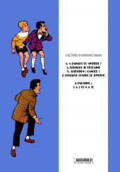 Verso de Alex, Eurêka et l'inspecteur Lestaque -INT6- Attention : Danger !