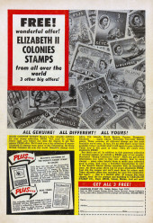 Verso de The brave And the Bold Vol.1 (DC comics - 1955) -5- Issue # 5