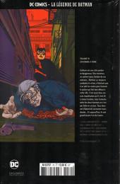Verso de DC Comics - La légende de Batman -70- Un homme à terre