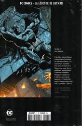Verso de DC Comics - La légende de Batman -71- Folie furieuse