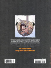 Verso de Savage Sword of Conan (The) - La Collection (Hachette) -67- La toile du dieu araignée
