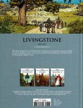 Verso de Les grands Personnages de l'Histoire en bandes dessinées -36- Livingstone
