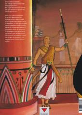 Verso de Sur les terres d'Horus -1a2002- Khaemouaset ou la loi de Maât