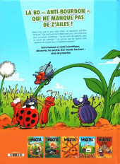 Verso de Les insectes en bande dessinée -5- Tome 5