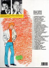 Verso de Ric Hochet -4c1985- L'ombre de Cameleon
