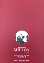 Verso de (Catalogues) Ventes aux enchères - Millon - Millon - Bandes Dessinées - 28 juin 2020 - Bruxelles