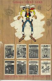 Verso de Lucky Luke (Pub et Pastiches) -1Auchan- La mine d'or de dick digger