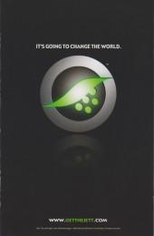 Verso de Cyber Force / Hunter Killer (2009) -1A- Issue 1