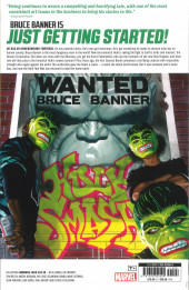 Verso de The immortal Hulk (Marvel Comics - 2018) -INT06- We Believe in Bruce Banner