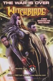 Verso de Cyber Force / Hunter Killer (2009) -3- Issue 3