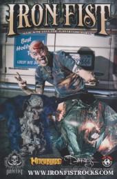 Verso de Cyber Force / Hunter Killer (2009) -4- Issue 4