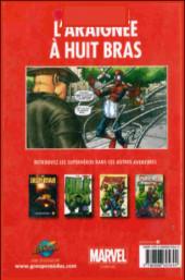Verso de Spider-Man - Les aventures (Presses Aventure) -4- L'araignée à huit bras