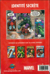 Verso de Spider-Man - Les aventures (Presses Aventure) -7- Identité secrète