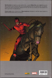 Verso de Daredevil Legacy -2- Peur sur la ville