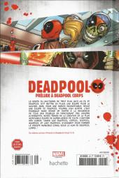 Verso de Deadpool - La collection qui tue (Hachette) -2939- Prélude à Deadpool Corps