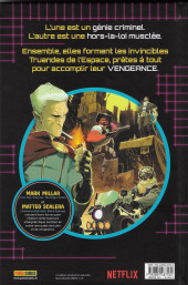 Verso de Space Bandits - Space bandits
