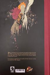 Verso de Hellboy (Intégrale Deluxe) -HS2- 25 ans d'Illustrations
