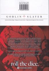 Verso de Goblin Slayer -8- Tome 8