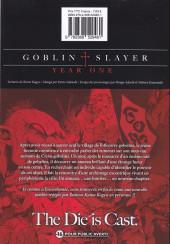 Verso de Goblin Slayer : Year One -4- Tome 4