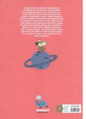 Verso de Cosmo-souris et ampoulette -5- Retour sur terre inconnue