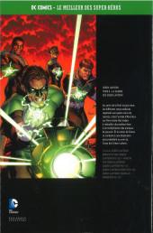 Verso de DC Comics - Le Meilleur des Super-Héros -Premium06- Green Lantern - Tome 4 - la Guerre des Green Lantern