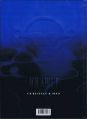 Verso de Aquablue -10EA- Le baiser d'Arakh