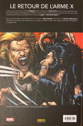 Verso de Wolverine (Marvel Deluxe) -2- Le retour de l'indigène