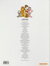 Verso de Garfield -11a2007- Ah, le farniente !