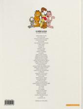 Verso de Garfield -16b2007- Fait feu de tout bois