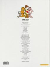 Verso de Garfield -25b2007- Garfield est sur la mauvaise pente