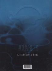 Verso de Aquablue -6EA- Étoile blanche - Première partie