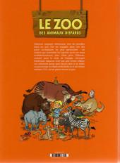 Verso de Le zoo des animaux disparus -1- Tome 1