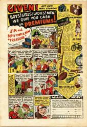 Verso de Adventures into Terror Vol.2 (Atlas - 1951) -4- The Torture Room!