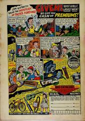 Verso de Adventures into Terror Vol.2 (Atlas - 1951) -10- When the Vampire Calls!