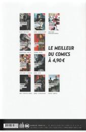 Verso de Le meilleur de DC Comics -10- injustice : année un