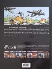 Verso de Ils ont fait l'Histoire -18a2019- Kennedy
