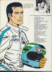 Verso de Michel Vaillant -20e1976'- Rodéo sur 2 roues