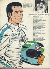Verso de Michel Vaillant -18c1977'- De l'huile sur la piste !