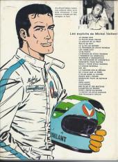 Verso de Michel Vaillant -11b1976'- Suspense à Indianapolis