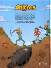 Verso de Les arKéos -1- Tome 1